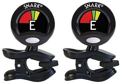 $ CDN33.67 • Buy Snark Tuner TWO PACK Clip On Chromatic For Guitar And Violin SN-5X