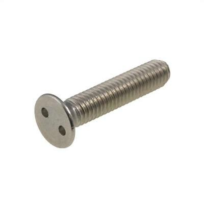 AU5 • Buy M4 M5 M6 Metric Countersunk EYE DRIVE Security Snake Eye Screw Stainess A2 G304