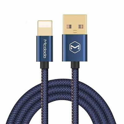 AU8.50 • Buy Lightning To USB Data Cable For IPhone X 5 6 7 8 + With Denim Cover