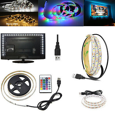 $6.10 • Buy 5V Waterproof USB RGB LED Strip 1M 2M 3M Light TV Back Lights Bar Lighting SS501