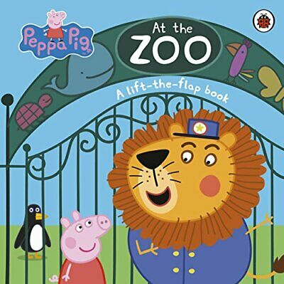 Peppa Pig: At The Zoo: A Lift-the-Flap Book (Peppa Pig Lift The ... By Peppa Pig • 6.49£