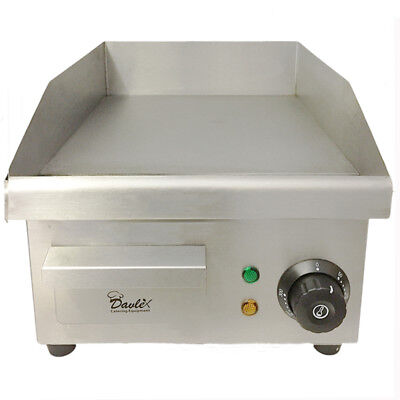 £199.99 • Buy Commercial Electric Griddle Hotplate Burger Bacon Egg Fryer Grill,380mm X 280mm
