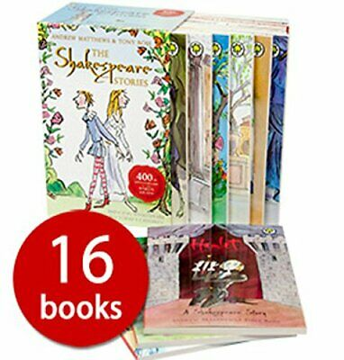The Shakespeare Stories (Includes 16 Books) By Tony Ross Book The Cheap Fast • 11.99£