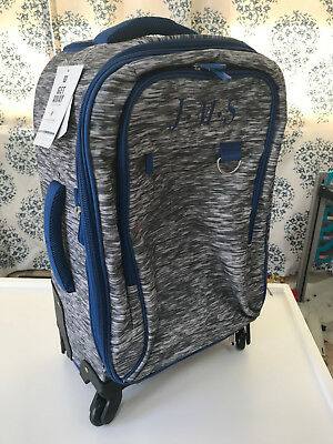 $ CDN75.38 • Buy  Pottery Barn Teen Get Away Getaway Gray Static Checked Spinner Luggage MONO JMS
