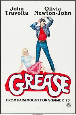 £5.13 • Buy Vintage 1978 Grease Movie Poster Print A3/A4