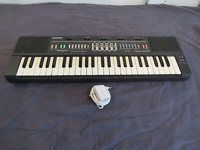 $49.08 • Buy Vtg Casio Casiotone MT-205 Synthesizer Keyboard Works Electric Piano Drum Input