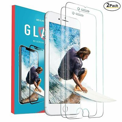AU5.80 • Buy 2x Tempered Glass Screen Protector Guard For Apple IPhone 12 11 XR 8 7 6 Pro SE
