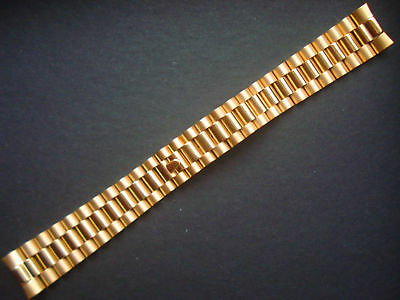 $ CDN24.81 • Buy President Two Tone Gold Watch Band Bracelet For Rolex Datejust 20mm Stainless St
