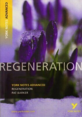 Regeneration: York Notes Advanced By Gamble, Sarah Paperback Book The Cheap Fast • 5.99£