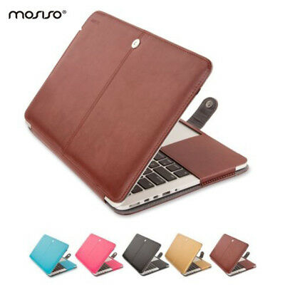 $14.99 • Buy Mosiso PU Leather Cover Case For MacBook Pro Air 11 Mac Retina 12 Accessories