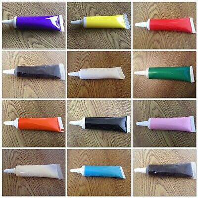 £2.25 • Buy 🍰 Edible Red White Blue Or Choc Writing Icing Tube Pen 19g Ready To Use Cake 🍰