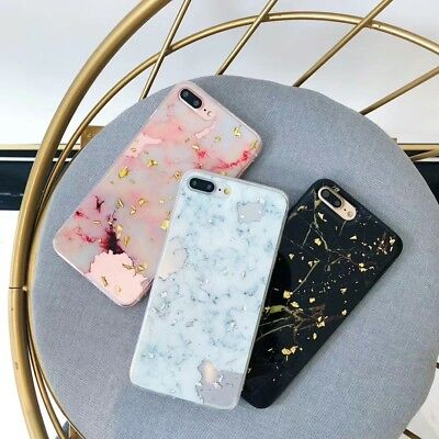 AU6.25 • Buy Marble Bling Tough Gel Soft IPhone 11 Pro Max XR 6 8 7 Plus Case Cover For Apple