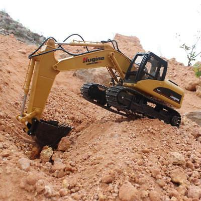 Remote Control Digger Construction Vehicles Model Electronic Hobby RC Truck Toys • 129.36£