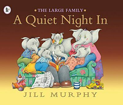 £3.59 • Buy A Quiet Night In (Large Family) By Murphy, Jill Paperback Book The Cheap Fast