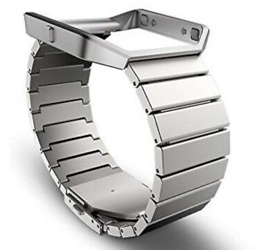 $ CDN38.11 • Buy NEW FitBit Blaze Metal Accessory Bracelet/Frame Replacement Band Silver