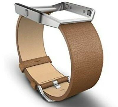 $ CDN33.51 • Buy Fitbit Blaze Camel Brown Leather BAND/FRAME Watch Band Large