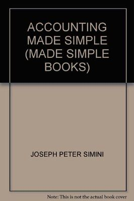 £2.14 • Buy Accounting Made Simple (Made Simple Books) By Joseph Peter Simi .9780434984695