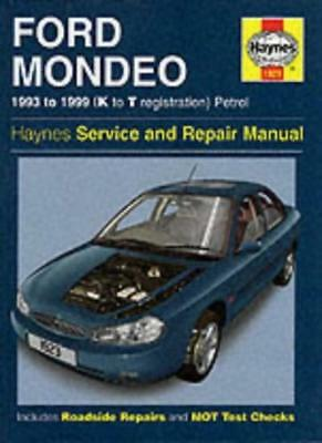 Ford Mondeo Service And Repair Manual - 1993 To 1999 (K To T Registration) Petr • 2.69£