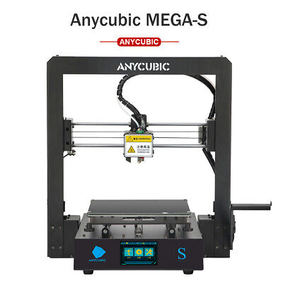 AU309 • Buy ANYCUBIC Mega S 3D Printer FDM Kit High Precision Large Printing 210 X210 X205mm