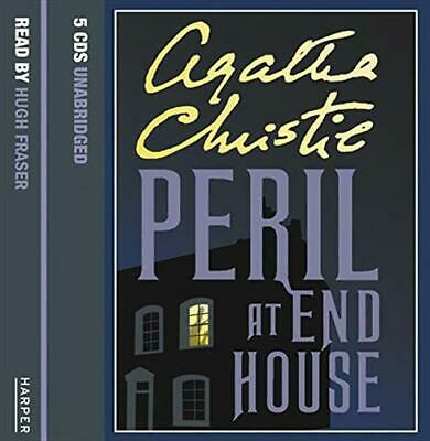 Peril At End House: Complete & Unabridged By Christie, Agatha CD-Audio Book The • 23.99£
