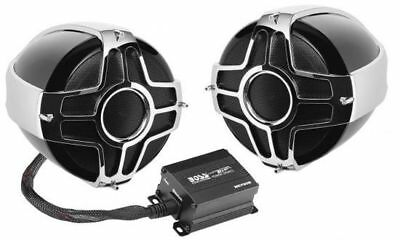 $119.99 • Buy New! Boss MC750B Bluetooth 1000 Watts Motorcycle Speaker And Amplifier System