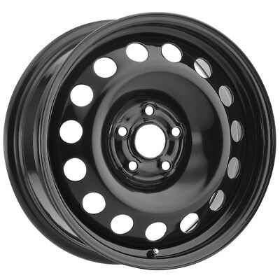 $50.99 • Buy Vision SW60 Steel Mod 14x5.5 4x100 +38mm Black Wheel Rim 14  Inch