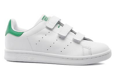 cheap for discount 5fb53 71f4b Bambino Adidas Originals Stan Smith Cf C Sneakers Bianco • 54.99€