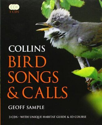 £51.99 • Buy Collins Bird Songs And Calls (Book & 3 CDs) By Sample, Geoff Paperback Book The