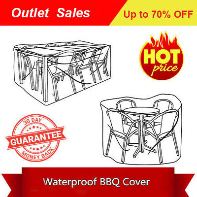 AU33.09 • Buy *Premium Outdoor Waterproof Patio Furniture Table Chair Cover 12 Sizes Grey