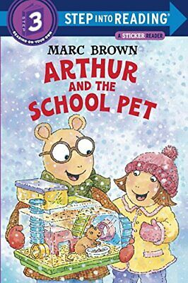 £3.59 • Buy Arthur And The School Pet (Step Into Reading Sticker Books (Pa... By Brown, Marc