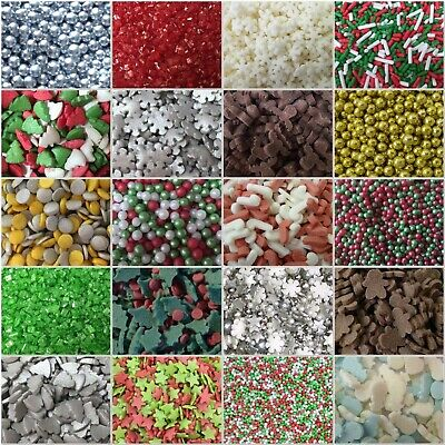 £1.80 • Buy 🎄 Christmas Holly Trees Candy Canes Sugar Sprinkles Cake Cupcake Decorations
