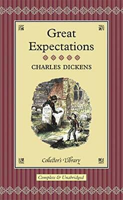 Great Expectations (Collector's Library) By Dickens, Charles Hardback Book The • 8.99£