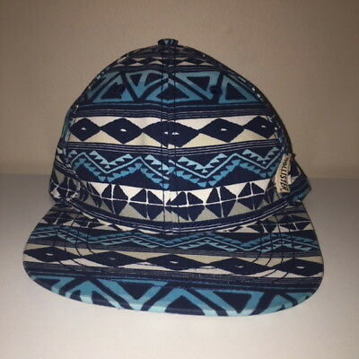 Hollister All Over Pattern Design Snapback Hat Cap One Size • 12.49  9a30e75f191