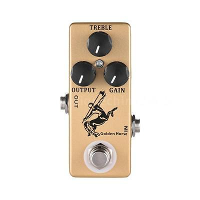 $ CDN28.16 • Buy NEW MINI Golden Horse Guitar Effect Pedal Overdrive / Boost Pedal True Bypass