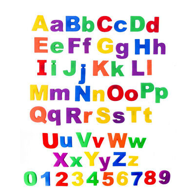 Kids Learning Teaching Magnetic Toy Letters Numbers Alphabet Fridge Magnets • 1.89£