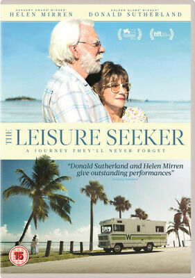 The Leisure Seeker DVD (2018) Helen Mirren, Virzì (DIR) Cert 15 Amazing Value • 2.10£
