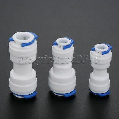 5pcs Straight Water Filter Connectors Connection Coupling RO System Pipe Fitting • 1.89£