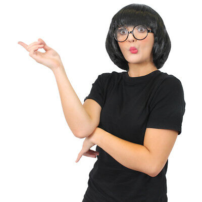 Incredible Fashion Designer T-shirt Glasses And Wig Costume Set Movie Cosplay • 12.99£