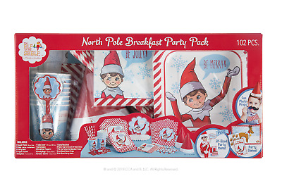 AU41.42 • Buy Official Elf On The Shelf® North Pole Breakfast™ Party Pack - Santa's Store