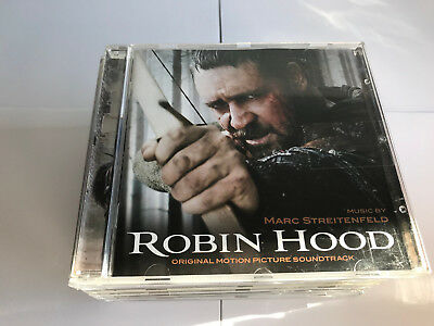 Robin Hood (Original Motion Picture Soundtrack Marc Streitenfel CD 4005939702021 • 18.99£