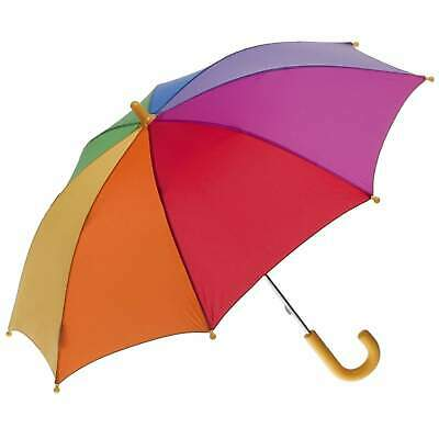 AU24.50 • Buy Clifton Childrens Kids Colourful Auto Open Rainbow Umbrella
