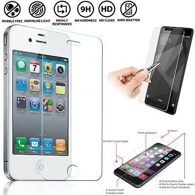 Crystal Clear Protector Screen Protection Film Tempered Glass For Mobile Phones/ • 2.09£