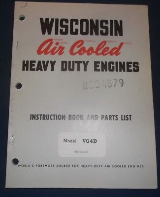 wisconsin engine vg4d