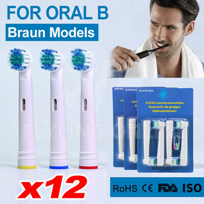 AU9.78 • Buy 12PCS Braun Oral B Electric Toothbrush Replacement Heads Brushes