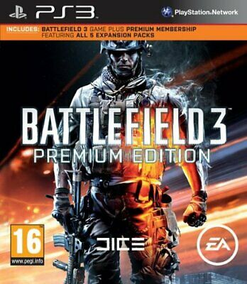 £9.53 • Buy Battlefield 3 Premium Edition (PS3) - Game  GWVG The Cheap Fast Free Post