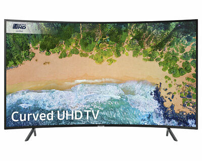 """View Details Samsung UE55NU7300 55"""" Curved Ultra HD Certified HDR Smart 4K TV *Free Delivery* • 449.00£"""