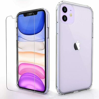 AU5.90 • Buy IPhone 12 11 Pro Max XR 8 7 Plus 6 Xs Case Crystal Clear Soft COVER For Apple