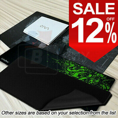 AU6.99 • Buy ALL SIZE Extra Large Gaming Mouse Pad Desk Mat Anti-slip Rubber Speed Mousepad
