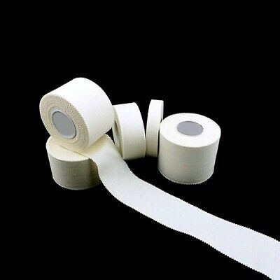 QUALICARE White Roll ZINC OXIDE TAPE Sports Strapping Medical Clinical SAVER QTY • 5.95£