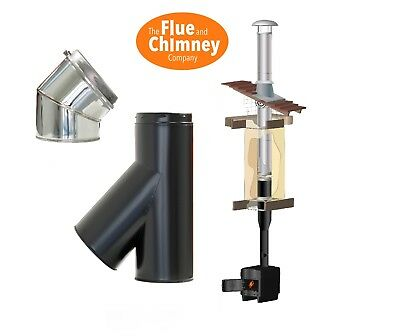 SFL Sflue Formally Selkirk SMW Twin Wall Chimney Flue Components 5  & 6  • 16.95£